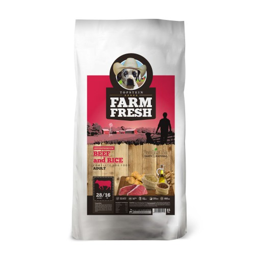 Farm Fresh – Beef & Rice