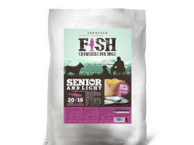 Fish Crunchies for dog – Senior and Light 1 Kg