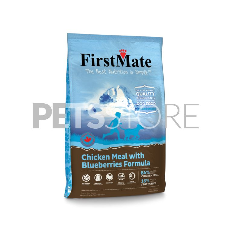 FirstMate Chicken Meal with Blueberries Formula