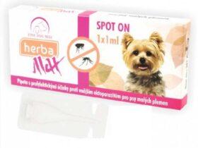 Herba Line SPOT ON Antiparazitna ampula za pse do 15kg